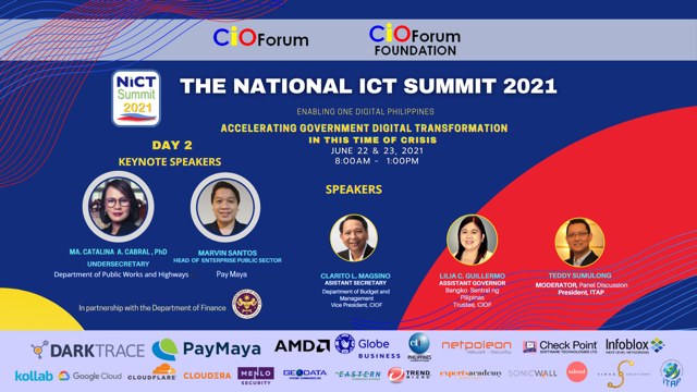 The NICT Summit 2021 - Day 2 Speakers