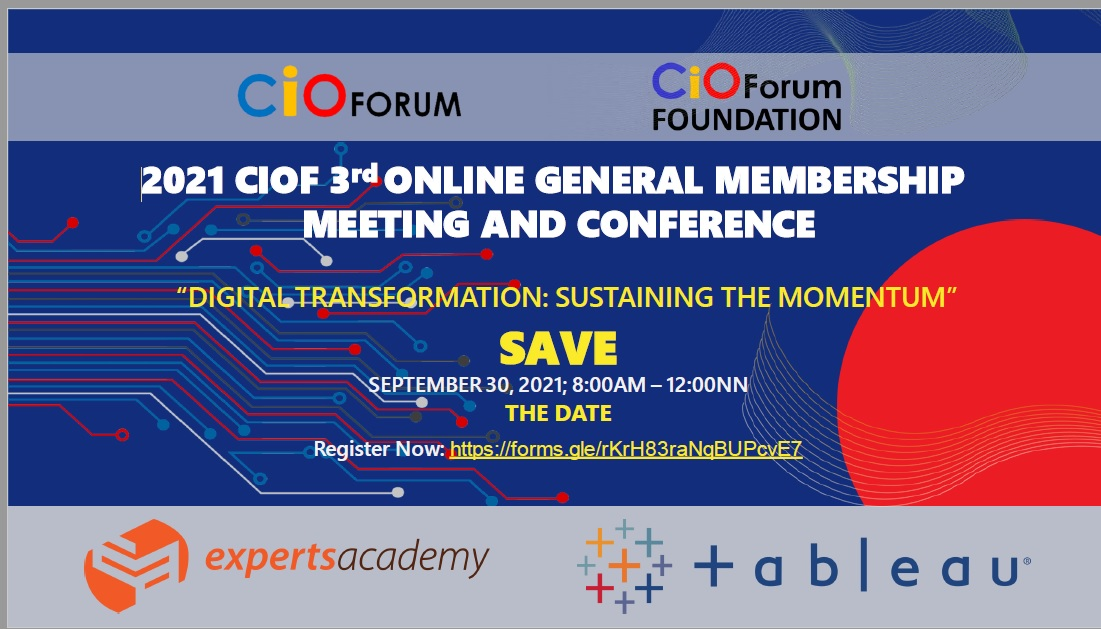 CIOF 3rd Online General Membership Meeting and Conference